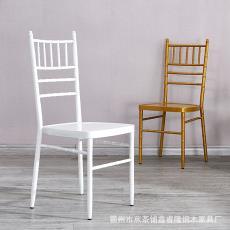 廠家直銷歐式金屬竹節椅 戶外家具婚慶椅 鐵質椅子
