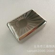 小号 图案随机混装 订货 便携式烟盒 金属烟丝盒BOX-12