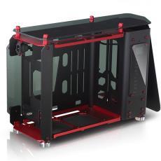 開放式全鋁鋼化玻璃 水冷 游戲競技機箱 喬思伯 MOD1-MINI JONSBO