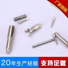 不锈钢销轴 滚花轮定位销齿轮轴加工订制 平头带孔圆柱销