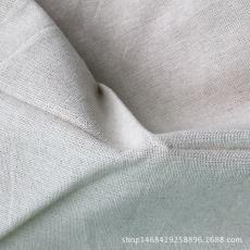 现货 厂家直销 4438#涤棉麻亚麻布料-DIY拼布/背景布 原麻色坯布