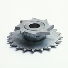 自行车不锈钢链轮配件定制山地车改装金属零件电动车链条齿轮