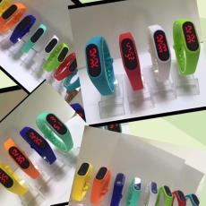 新款手环2代LED小米电子手表时尚潮流儿童学生情侣企业活动电子表