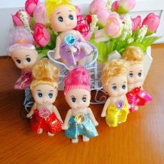 厂家直销可爱小丑迷糊娃娃婚庆礼品低价玩具小挂件