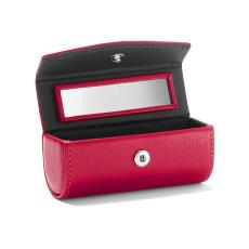 女士随身润唇膏收纳盒 定制皮革促销品口红盒
