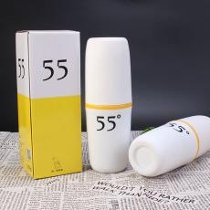 厂家直销不锈钢降温杯定制logo批发55度杯广告礼品创意杯赠品杯子