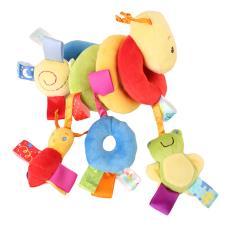 婴儿玩具音乐床绕床铃床挂柔软布艺毛绒床头铃摇铃床头铃布艺玩具