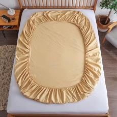 *床笠单件床罩保护套酒店宾馆防滑床垫套床上用品批发厂家4