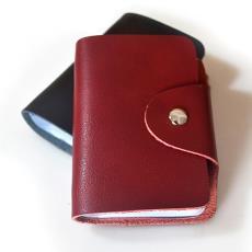 真皮卡包批发 定制LOGO 多卡位名片夹包银行促销礼品赠品牛皮卡套