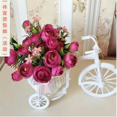 包郵家居裝飾品擺設假花絹花干花束客廳茶幾擺件花車仿真花套裝
