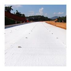 土工布现货供应 厂家直销土工布  涤纶短纤路面养护土工布