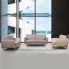 现代简约客厅布艺沙发 办公室沙发酒店沙发批发 舒适组合布艺沙发