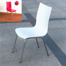 批发展会椅子白色烤漆曲木椅中西餐厅餐椅洽谈培训办公会议椅包邮