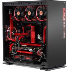 MATX ITX 游戏DIY电脑机箱 迎广INWIN 钢化玻璃侧透MOD水冷 301
