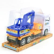 9558895588車 十元店地攤貨源批發 兒童過家家玩具可動塑料工程車