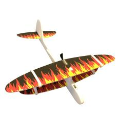 跨境爆單新款充電手拋飛機電動滑翔機地攤玩具熱賣