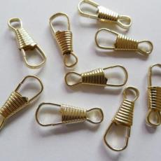 五金金屬8字葫蘆扣鏈條掛扣現貨 義烏廠家可定制不銹鋼朱膽扣