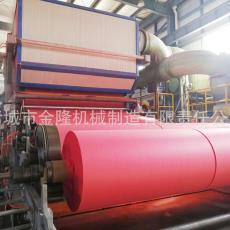 造紙設備源頭生產廠家 廠家直銷13003700長夾網特種紙機金隆機械