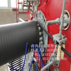 大口径管材生产线 PE中空壁缠绕管生产线  中空壁管生产设备