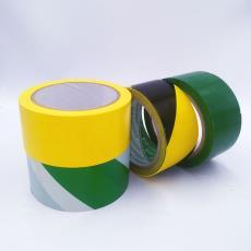 黑黄色警示胶带地面pvc防静电地板防滑安全区域标识桌面5S定位贴