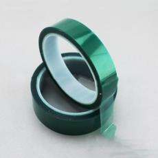 高温绿胶带批发 PET高温胶带 无气泡工业产品胶带 电子产品胶带