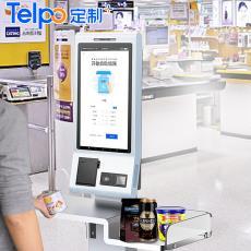 廠家直銷TPS722 自助結算 自助收銀機 超市人臉支付 自助刷臉支付