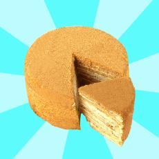 俄羅斯風味六寸蛋糕 休閑食品生日蛋糕一件代發 多種口味食品蛋糕