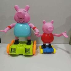 跳舞小猪会唱歌塑料电动玩具 儿童益智玩具