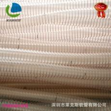 除尘软管 德国进口TPU原料生产 供应 PU耐磨钢丝软管 吸尘软管
