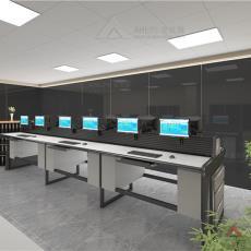安防监控电视墙网络机柜操作台厂家直销-安贝斯控制台定制专家