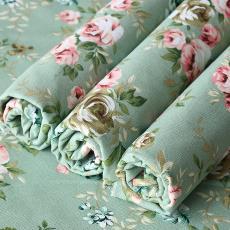 滌棉厚帆布布料桌布沙發面料現貨批發條紋窗簾抱枕套布料廠家直銷