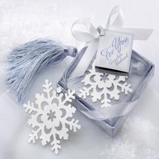 批發個性禮盒書簽創意小禮品送同學新年禮物紀念品不銹鋼流蘇書簽