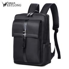 现货批发男士双肩包时尚韩版背包休闲书包商务笔记本电脑包3T98