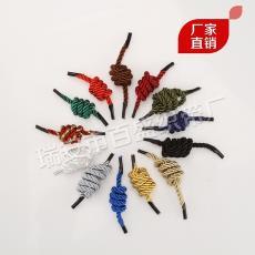 手提繩彩色服裝輔料織帶 廠家批發三股繩、滌綸扭繩、手提拉繩
