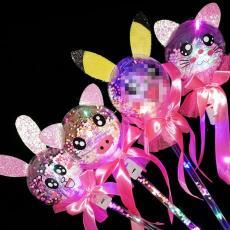 發光棒 廠家批發 地推禮品 星空球魔法棒 led發光玩具閃光仙女棒