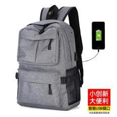 2019新款多功能充电USB双肩包电脑背包旅行休闲韩版男女学生书包