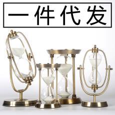 一件代發金屬沙漏計時器擺件創意生日商業禮物刻字logo私人訂制