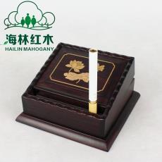 紅木煙盒自動煙跳 多功能取煙器商務禮品 個性創意高檔實木彈煙盒