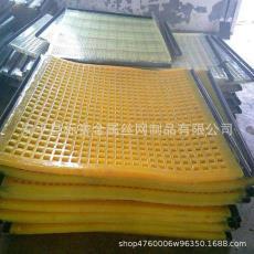 雙層高頻篩網 聚氨酯石油震動篩網 聚氨酯條縫篩網  板式粘合篩網