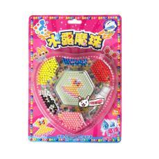 益智玩具材料包 儿童手工创意diy 拼图水粘珠 神奇水雾魔法珠套装