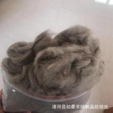 厂家自产自销纺纱貉子绒原料 优质貉子绒原料厂家直销 品质浣熊绒