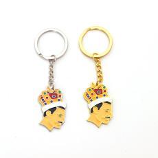 皇后樂隊Queen汽車扣弗雷迪·莫庫里鑰匙扣掛件贈品 英國搖滾樂隊
