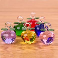 包邮特价水晶苹果树水晶苹果备用创意DIY家居小装饰品礼物摆件女