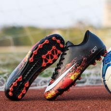 刺客足球鞋男成人長短釘CR7碎釘訓練鞋人造草學生女兒童球鞋透氣