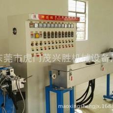专业生产碳纤维硅胶电线挤出机硅胶电缆挤出机厂家