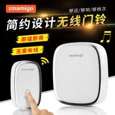 门铃无线家用超远距离穿墙一拖一拖二智能遥控电子呼叫器电铃