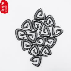 玉石宝石装饰品天然铁石银钩工艺品 外网爆款天然水晶玛瑙