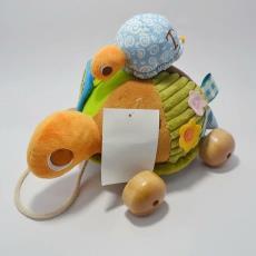 创意DIY乌龟毛绒玩具公仔 卡通儿童玩具加共 海洋动物子母龟玩具