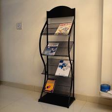 辦公室架書報架報刊雜志資料金屬鐵彩頁宣傳單頁展架