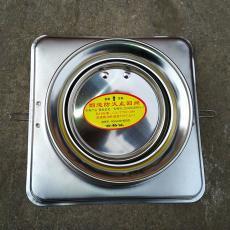 厂家直销厨房烟道止回阀φ100止逆阀不锈钢防火阀